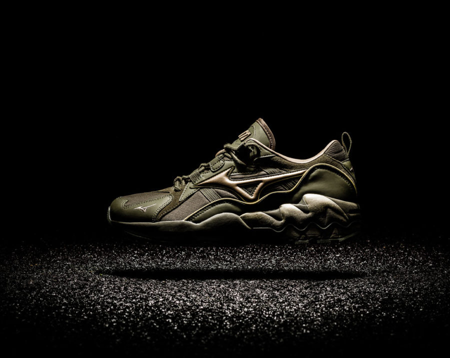 mizuno shoe image campain
