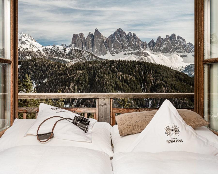Hochwertige und kreative Hotelfotografie - Hotel Rosalpina