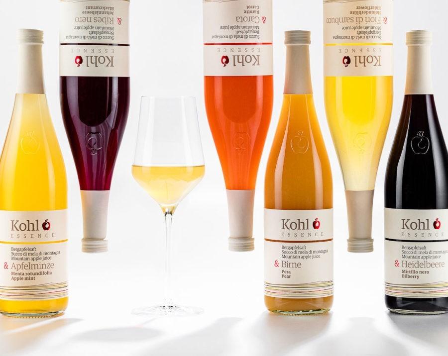 Drinks- und Produktfotografie - Kohl Bergapfelsaft