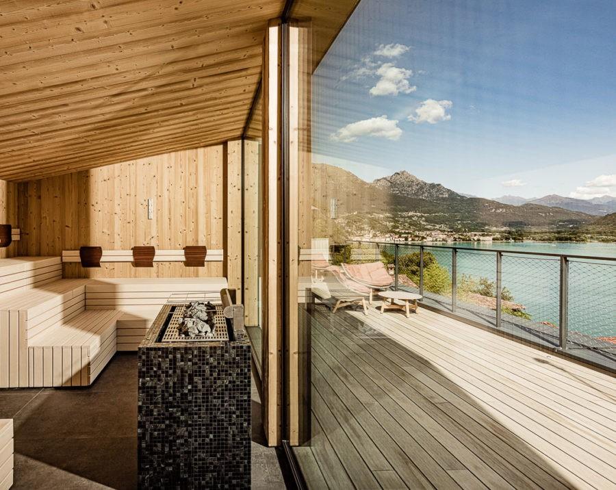 Hotel- und Werbefotografie für Aria Retreat & SPA am Luganer See